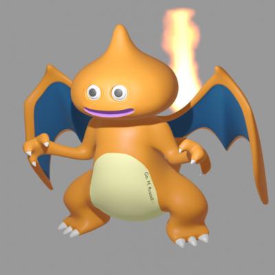 火炎スライム